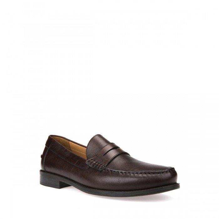 Zapatillas mujer Geox New Damon marrón.
