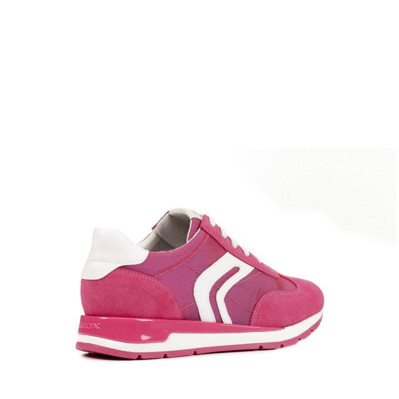 Zapatillas Geox ante combinado y suela transpirable linea
