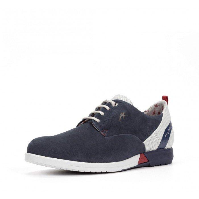 Zapatos Deportivos Hombre Fluchos Hornet 9787 Azul Océano