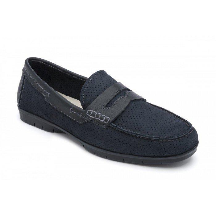 Zapatos hombre 24 Hrs 10348 Nobuck Marino