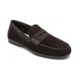 Zapatos hombre 24 Hrs 10348 Nobuck Marrón