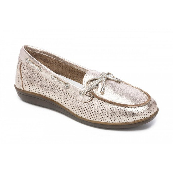 Mocasines mujer 24 Hrs 23535 Adriam Taupe