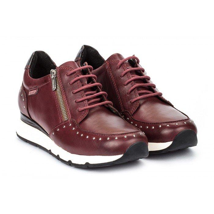Zapatos Deportivos Mujer Pikolinos Mundaka W0J-6750 Burdeos.