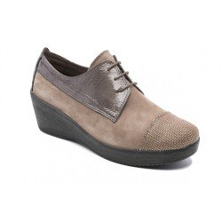 Zapatos mujer 24 Hrs 23417 Taupe