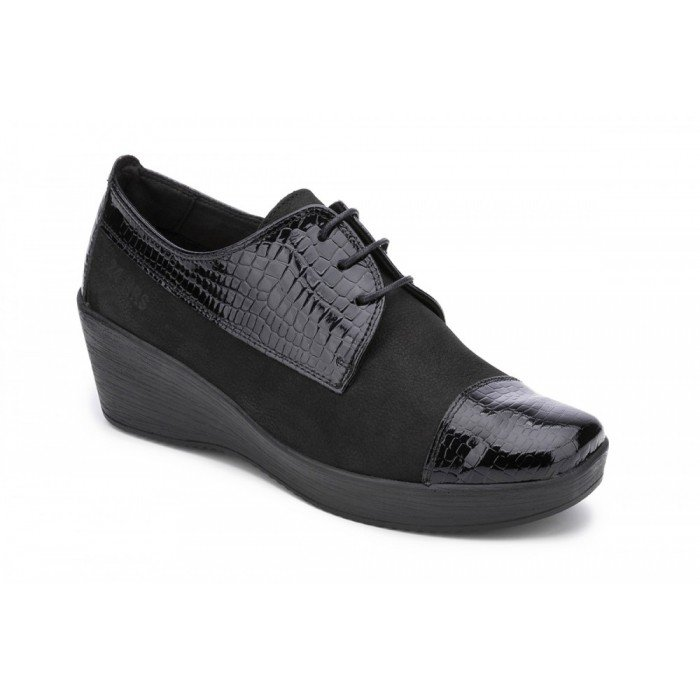 Zapatos mujer 24 Hrs  023016 Negro
