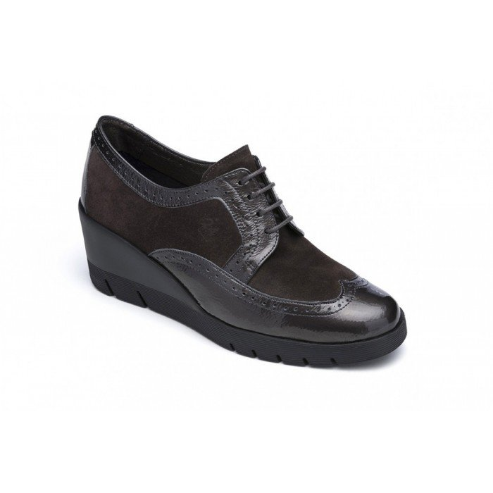 Zapatos Blucher Mujer 24 Hrs 23451 Marrón