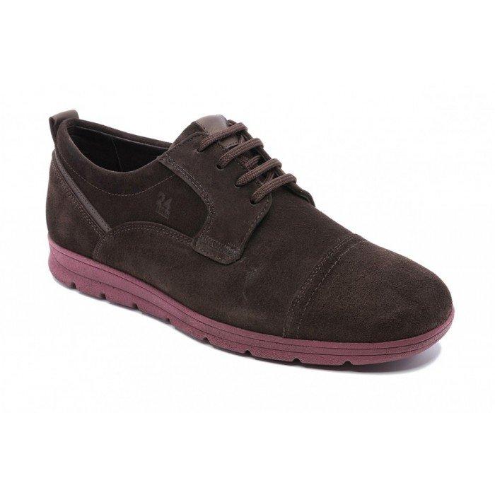 Zapatos hombre 24 Hrs 10263 marrón