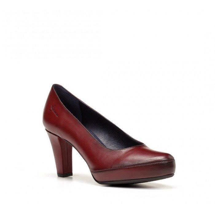 Zapatos Saón Mujer Dorking Blesa D5794 Sugar Burdeos