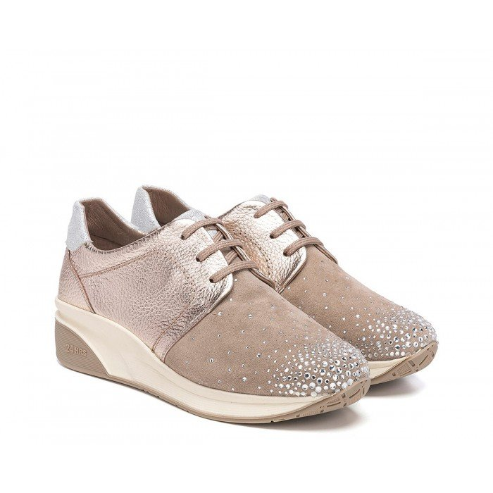 Zapatos mujer 24 Hrs 23548 Taupe