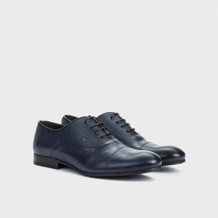 Zapatos hombre blucher Martinelli Eric 1378-1178 PYM Azul.