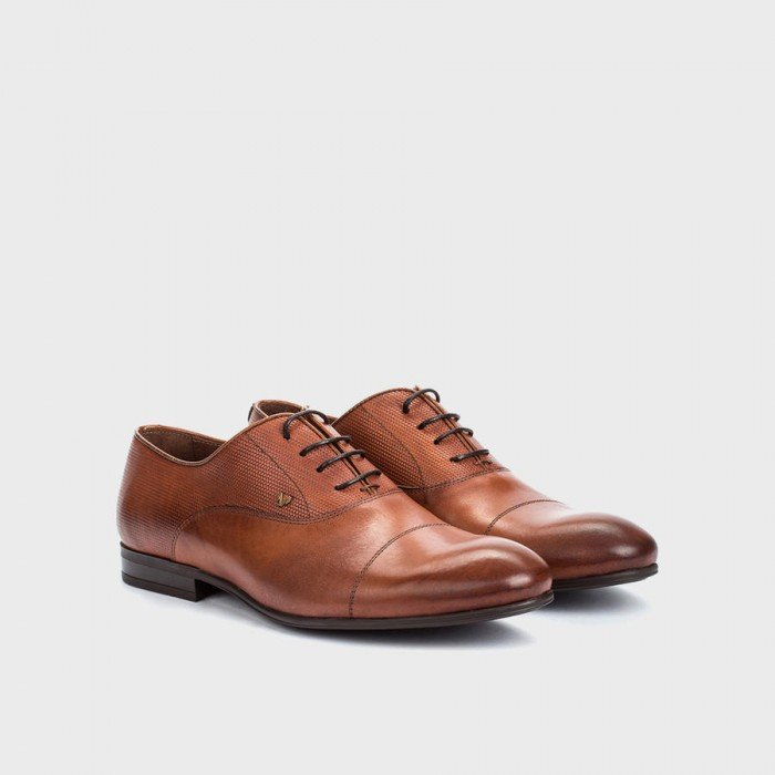 Zapatos hombre blucher Martinelli Eric 1378-1178 PYM Tabaco..