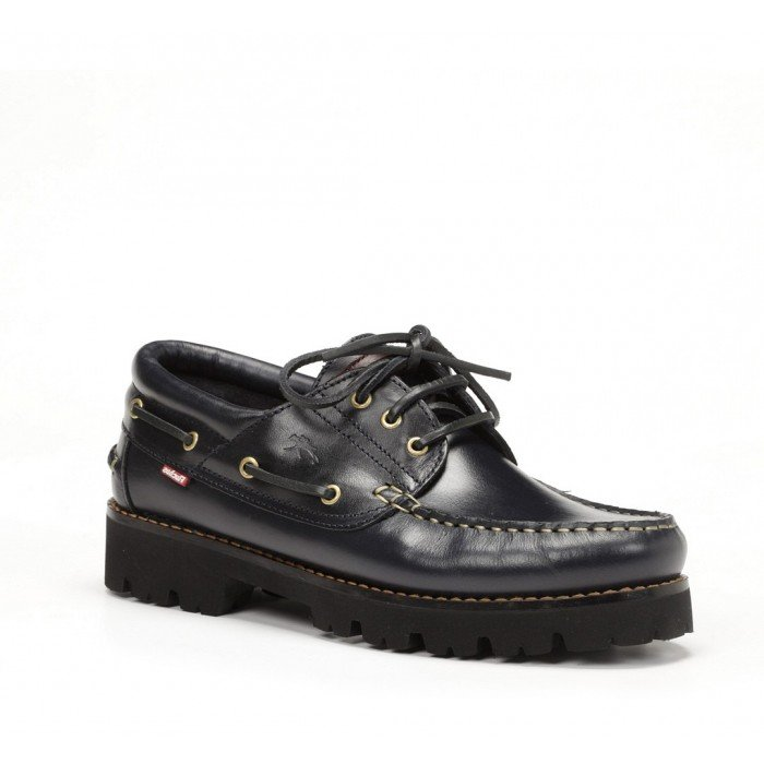 Zapatos Náuticos Hombre Fluchos Richfield F0046 Azul Marino