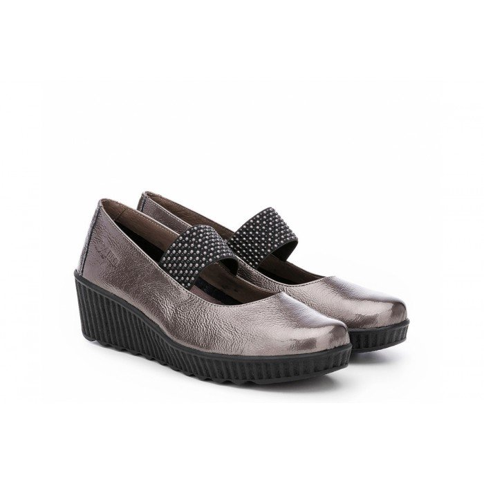 Zapatos mujer 24 Hrs 23800 Taupe