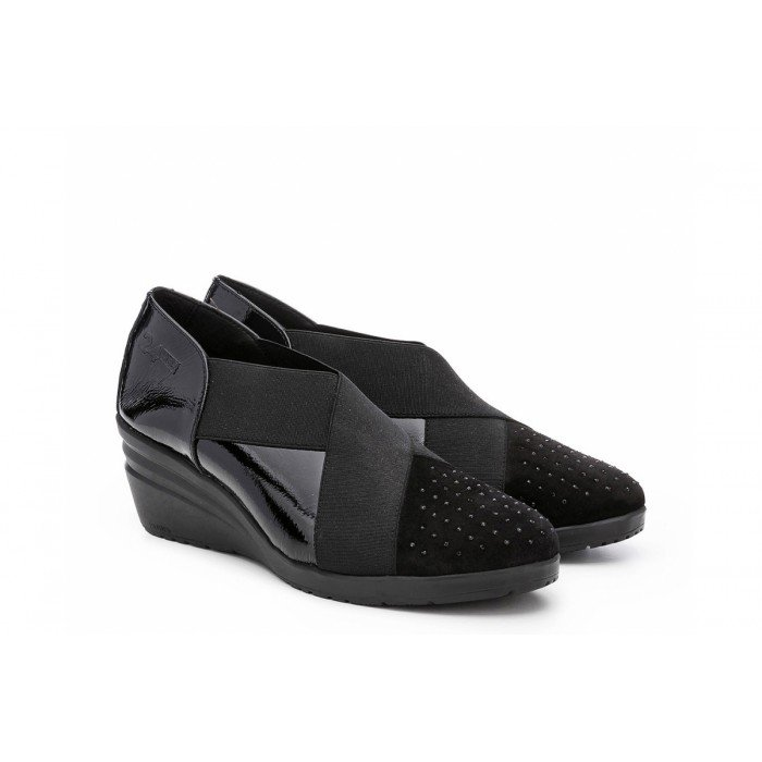 zapatos mujer 24 Hrs 23848 Negro.