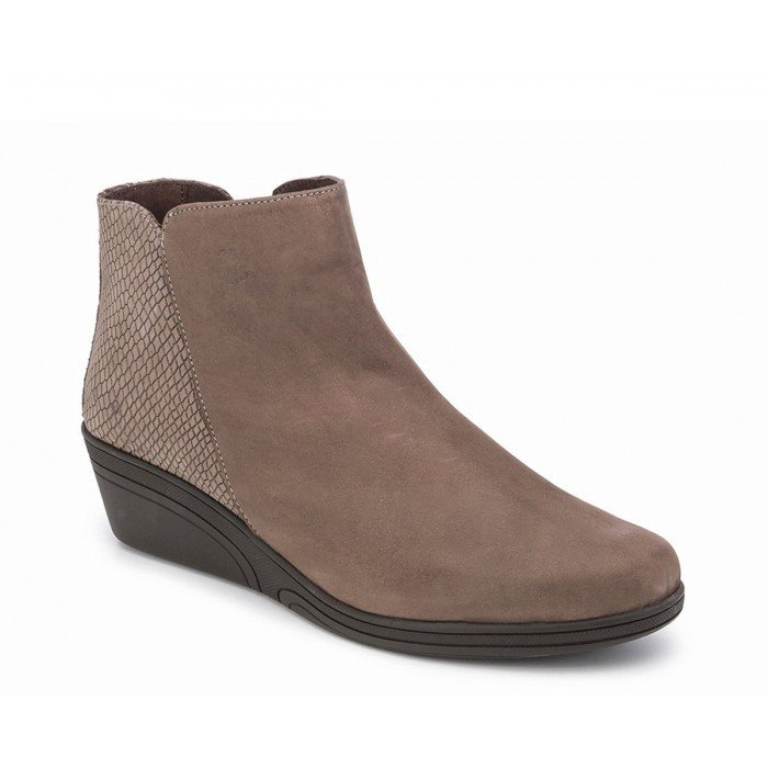 Botines mujer 24 Hrs  22609 Taupe