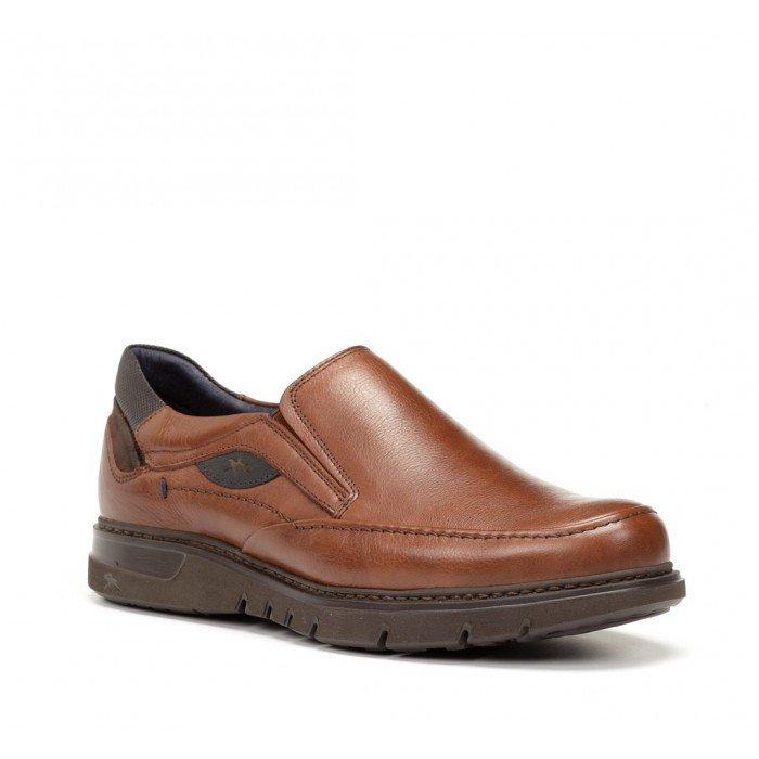 Zapatos Mocasines Hombre Fluchos Celtic F0249 Cuero