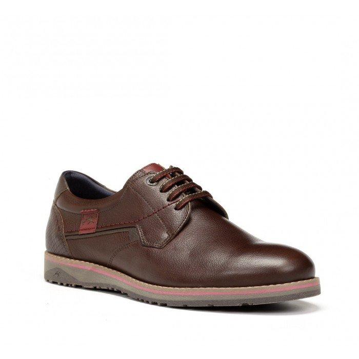 Zapatos Hombre Fluchos Brad 9474 Capri Marrón Castaño