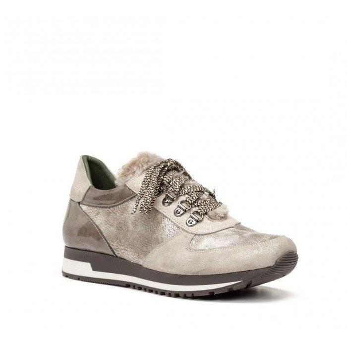 Zapatillas mujer Dorking D7564 Acero