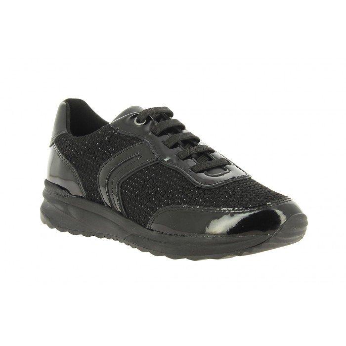 empeñar En la madrugada doloroso  Zapatos deportivos mujer Geox D Airell A negro. Envío en 24 h. gratis.