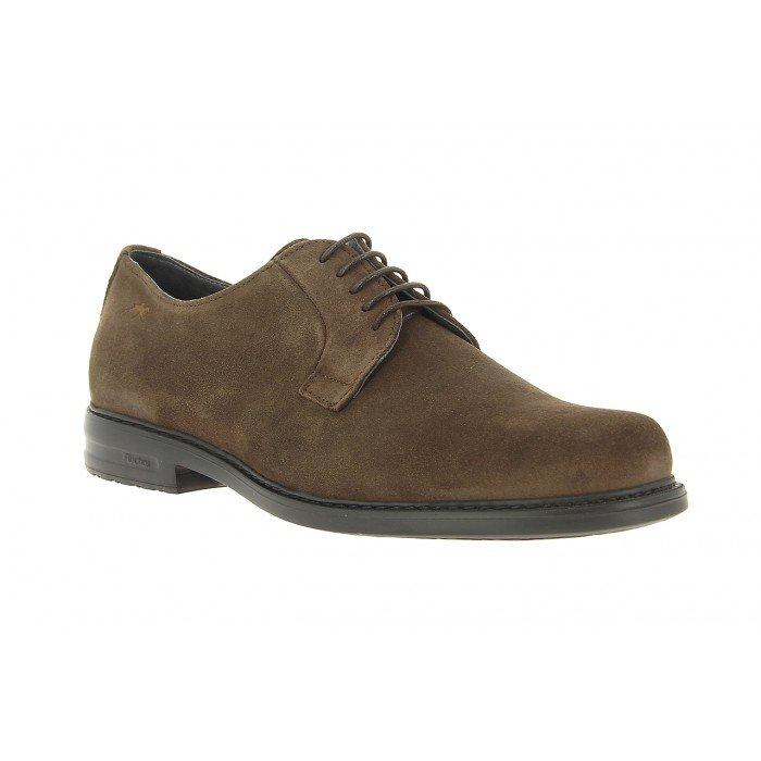 Zapatos Hombre Fluchos Simón 8467 Marrón Café