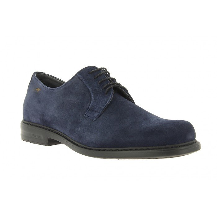 Zapatos Hombre Fluchos 8467 Azul Simón