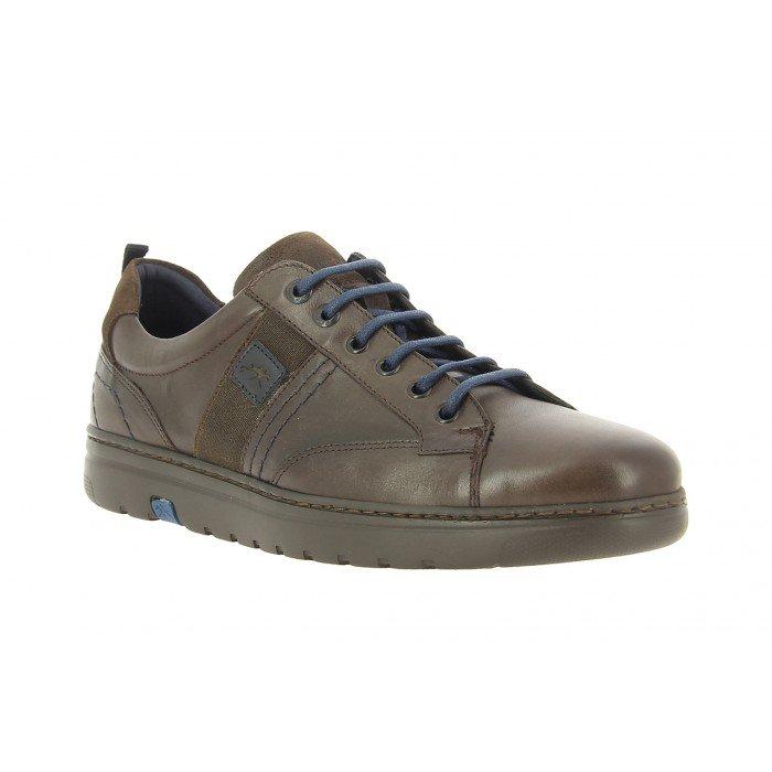 Zapatos Deportivos Hombre Fluchos Atlas F0296 Marrón Café