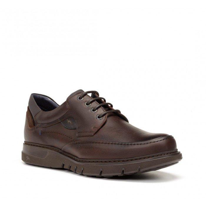 Zapatos Hombre Fluchos Celtic  F0248 Marrón Grass Líbano