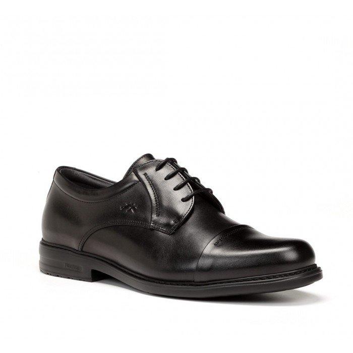 Zapatos Hombre Fluchos 8468 Negro Simón