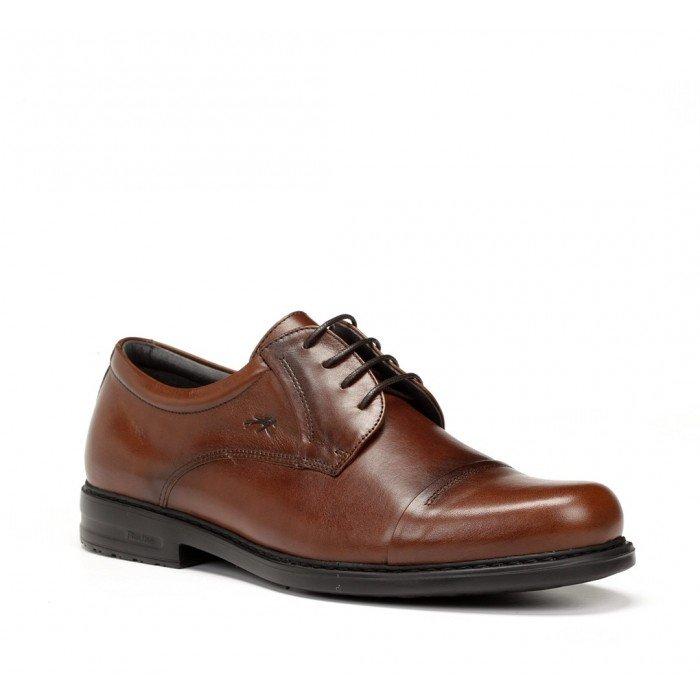 Zapatos Hombre Fluchos Simon 8468 Marrón Líbano