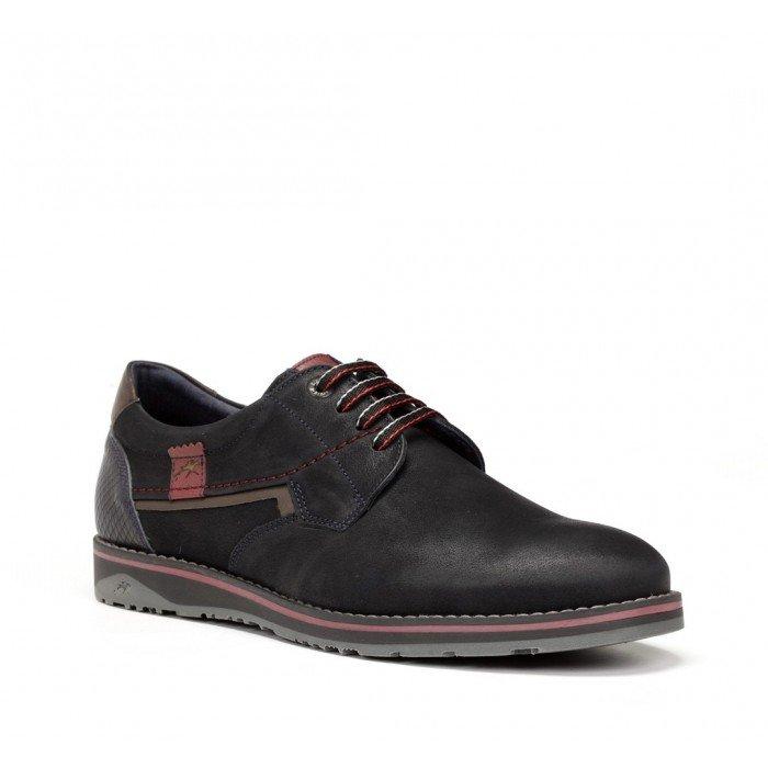 Zapatos Hombre Fluchos Brad 9474 Kansas Azul Marino
