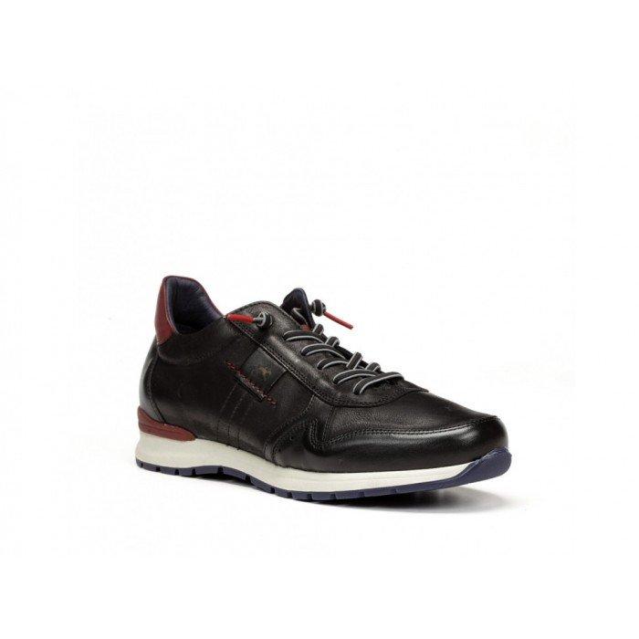 Zapatos Deportivos Hombre Fluchos Erik F0208 Negro