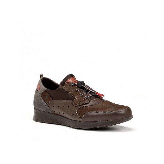 Zapatos Deportivos Hombre Fluchos Kodiak F0305 Marrón Café