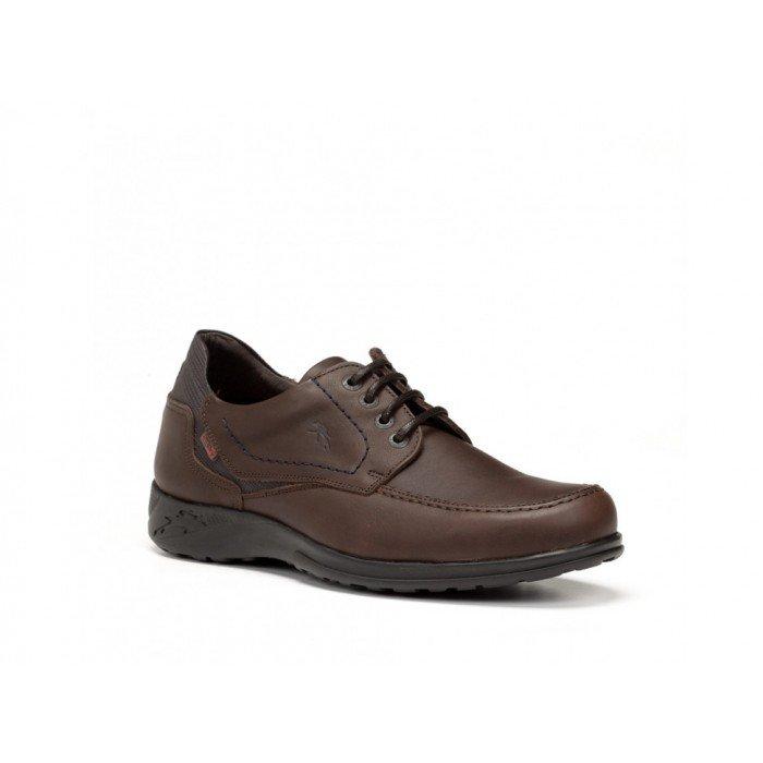 Zapatos Hombre Fluchos Calipso F0038 Marrón Café