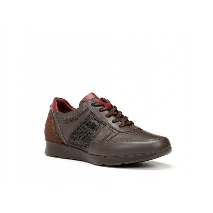 Zapatos hombre Fluchos F0307 Castaño