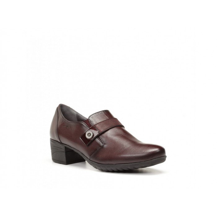 Zapatos mujer Dorking F0266 Burdeos