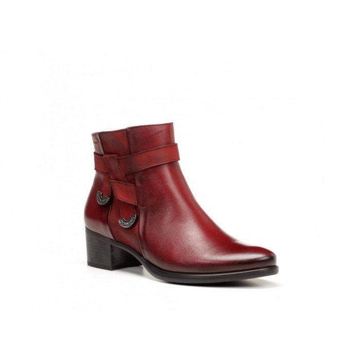 Zapatos mujer Dorking 7632 Rojo