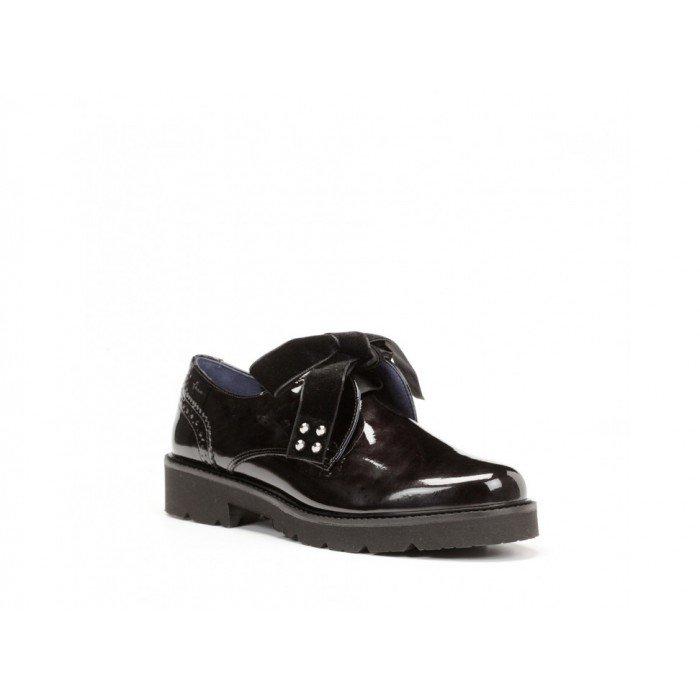 Zapatos mujer Dorking 7566 Gloss Negro