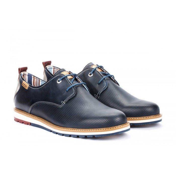 Zapatos Hombre Pikolinos Berna M8J-4273 Azul Blue