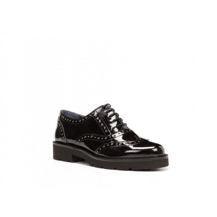Zapatos mujer Dorking 7565 Gloss Negro