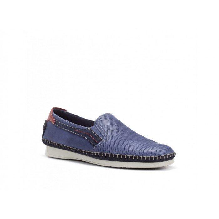 Zapatos Hombre Fluchos Komodo F0198 Azul Lago