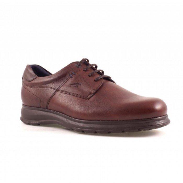 Zapatos Hombre Fluchos Blazer F0385 Marrón Brandy Tabaco