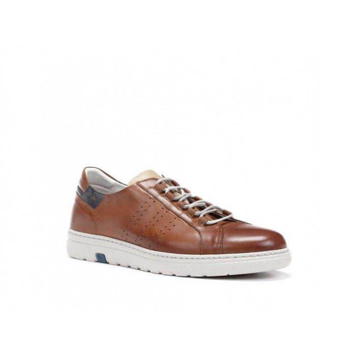 Zapatos Deportivos Hombre Fluchos Atlas F0149 Cuero