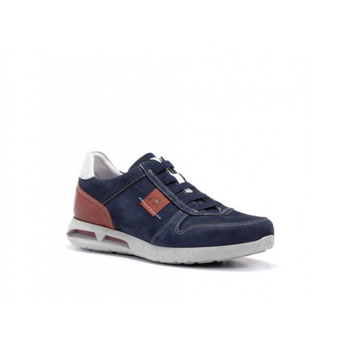Zapatos Hombre Fluchos Cypher F0552 Azul