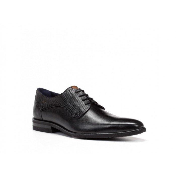 Zapatos Hombre Fluchos  Borneo  F0135 Negro