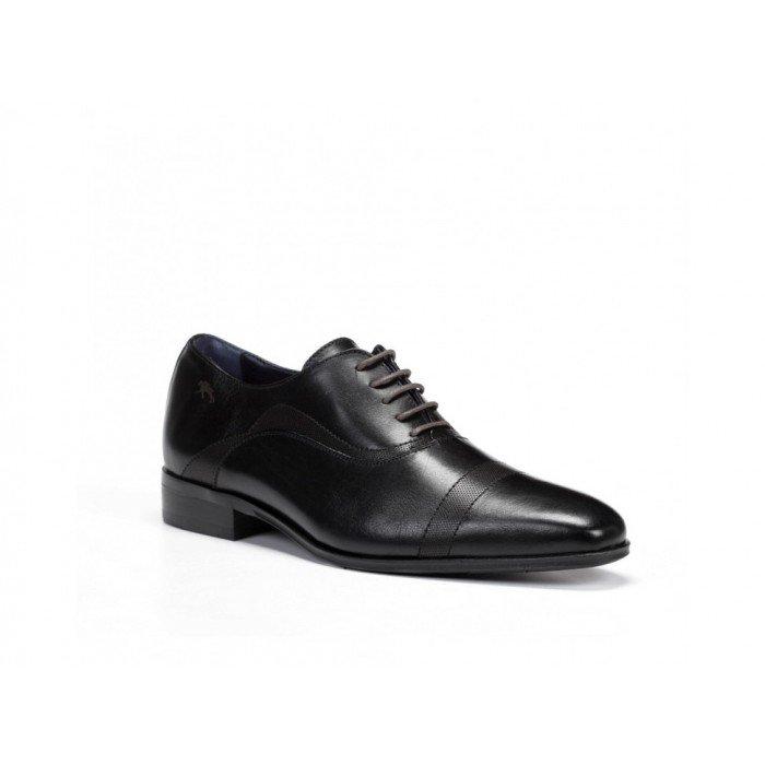 Zapatos Hombre Fluchos Cesar 9317 Memory Negro
