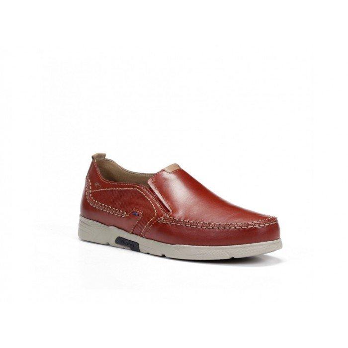 Zapatos Hombre Fluchos Choi F0440 Terracota