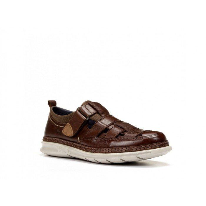 Zapatos Hombre Fluchos Fuji F0176 Marrón.