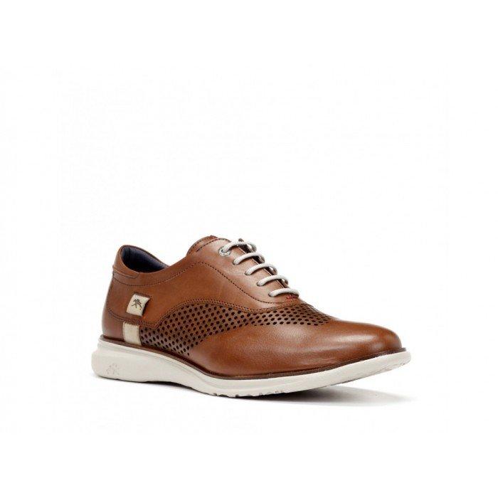 Zapatos Hombre Fluchos Fenix  9841 Cuero