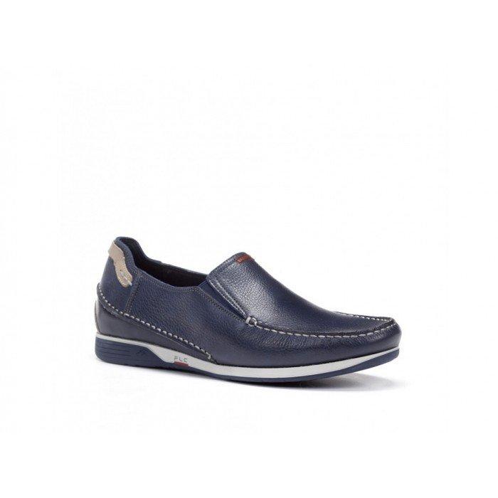 Zapatos Hombre Fluchos James 9124 Azul
