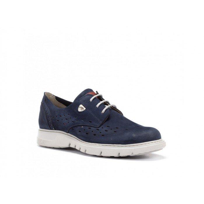 Zapatos Hombre Fluchos Celtic F0024 Azul Océano